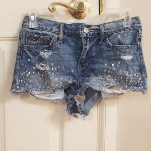 Hollister bling shorts